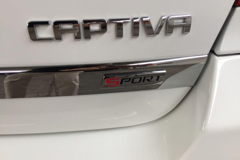 CAPTIVA V6 PAQ D SPORT 2015